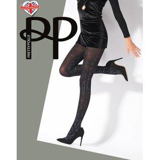 Pretty Polly Pretty Polly Silver print Tights