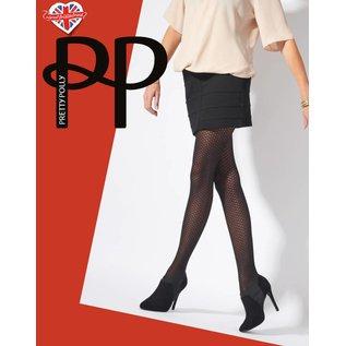 Pretty Polly Pretty Polly Diamond Tights - Zwart - One size