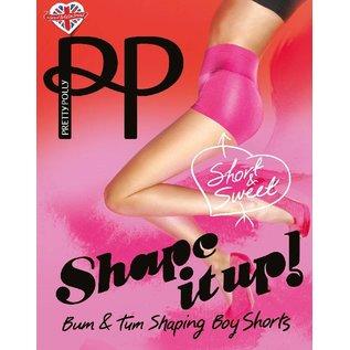 """Pretty Polly Pretty Polly """"Shape it Up""""Boy Shaper Shorts"""