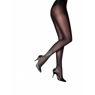 """Pretty Polly Pretty Polly """"Curves""""Embellished Detail Tights"""