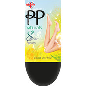 Pretty Polly 8 Den.Naturals Footsie kousenvoetjes