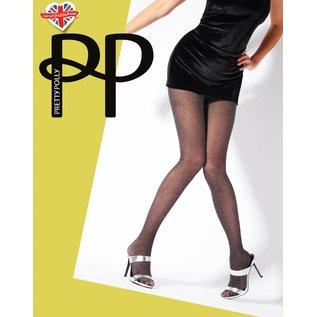 Pretty Polly Lurex Silver Panty