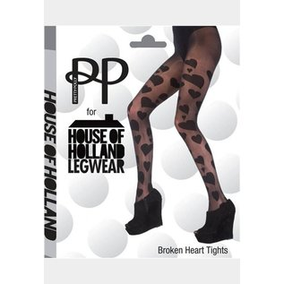 House of Holland House of Holland Broken Hearts Tights