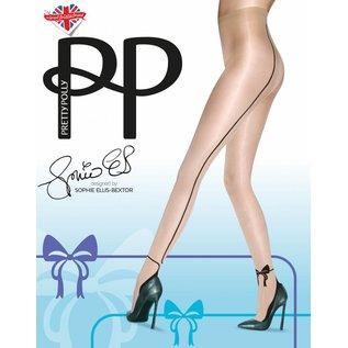 Pretty Polly Pretty Polly Bow Backseam Tights by Sophie Elles-Bextor