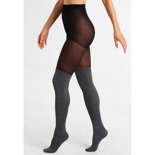 Pretty Polly Marl Secret Sock panty