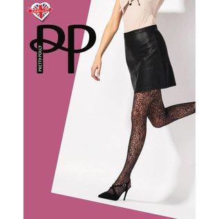 Pretty Polly Pretty Polly zwarte Squiggle  panty