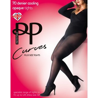 Pretty Polly Pretty Polly Curves 70 denier cooling opaque panty