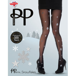 Pretty Polly All Over Snowflake Tights