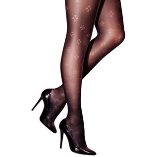 Pretty Polly Pretty Polly Dot Diamond Fashion Tights