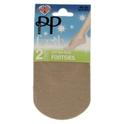 Pretty Polly Footsies Natural (2 pair)
