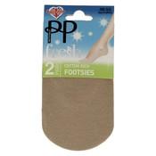 Pretty Polly Footsies Natural (2 pair)