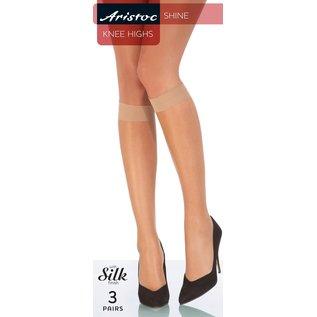 Aristoc Aristoc 10D. Shine Kneehighs with silk finish (3 pair)
