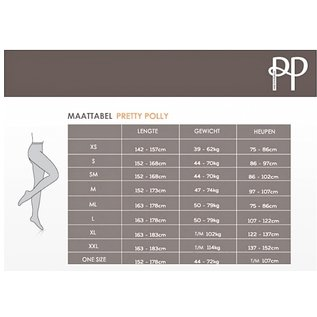 Pretty Polly Pretty Polly 80D. Banded Top Opaque  Hold Ups