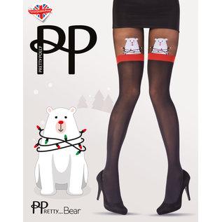 Pretty Polly Pretty Polly Xmas Polar Bear Tights