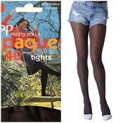 Pretty Polly 40D. Opaque Tights (2 pair)