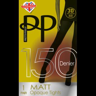 Pretty Polly Pretty Polly 150 Denier 3D. Matt Tights