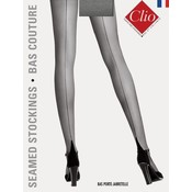 Clio 15D. Stay Up's with Seams with Lace Top