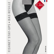 Clio Fishnet Stay Up's with Lace Top
