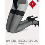 Clio Fine Mesh Stay Up's with seams