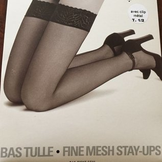 Clio Clio Fine Mesh naad Stay Up's met Clips in Top