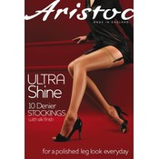 Aristoc 10D. Ultra Shine Suspender Stockings
