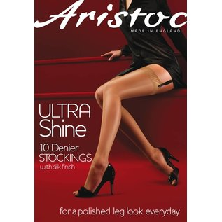 Aristoc 10 Denier Ultra Shine Jarretelkousen