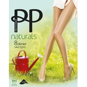 "Pretty Polly 8D. ""Naturals"" Oiled Shine Summer Tights"