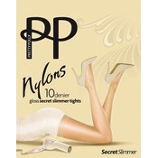 "Pretty Polly 10D. ""Nylons"" secret slimmer Tights"