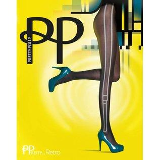 Pretty Polly 40 denier Pretty Stylish Side Pannel panty