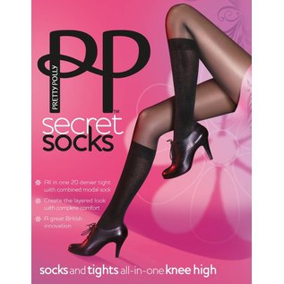 Pretty Polly Model Socks Tights