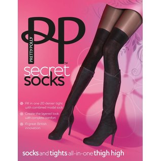 Pretty Polly Over the Knee Sock Tights