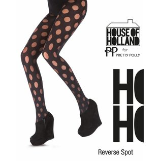 House of Holland Reverse Spot Tights