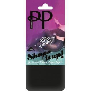 Pretty Polly 80 Denier  Shape It Up Tum Shaper Tights