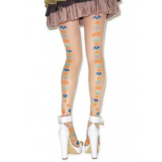 Pretty Polly Californial Floral Tights