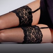 Aristoc 10D. Suspender Stockings with Lace Top