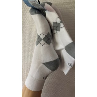 Pretty Polly Pretty Polly Running Socks 2 PP White/Grey