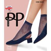 Pretty Polly Spot Net Anklet 1 pair
