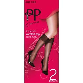 Pretty Polly Comfort Top Kneekousjes voor een maatje meer
