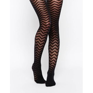 House of Holland Zig Zag Tights van House of Holland