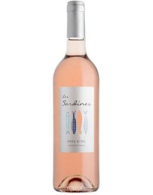 Vignobles des 3 Châteaux, Languedoc Vignobles des 3 Chateaux, Les Sardines, Pays d'Oc Rosé, IGP 2019