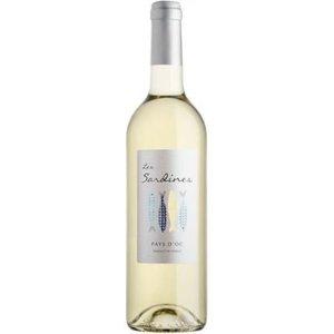 Vignobles des 3 Châteaux, Languedoc Les Sardines, Pays d'Oc Blanc, IGP 2016