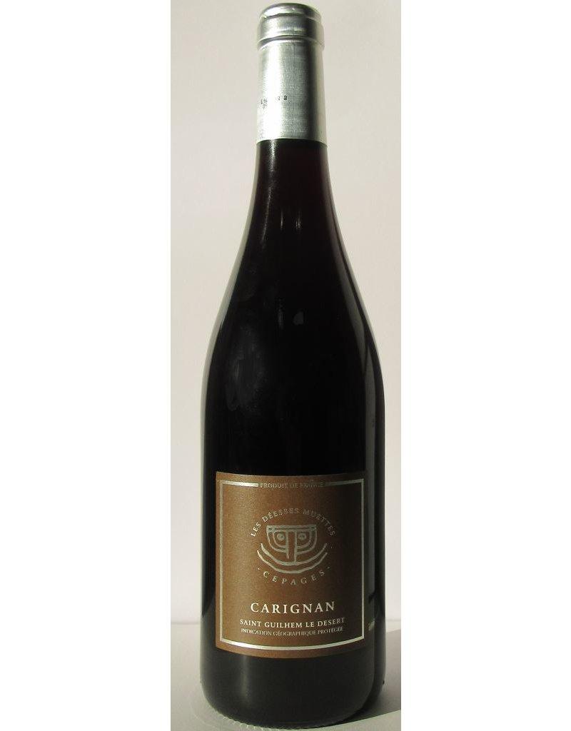 Vignobles des 3 Châteaux, Languedoc Vignobles des 3 Chateaux, Les Déesses Muettes, Cépage Carignan, IGP Saint Guilhem le Désert 2016