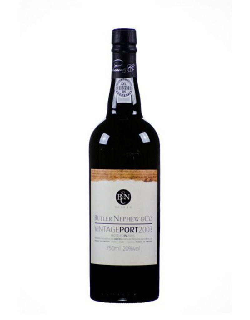 Christies Port Wine  Cristies Port Wine, Butler Nephew & Co, 2003 Vintage Port