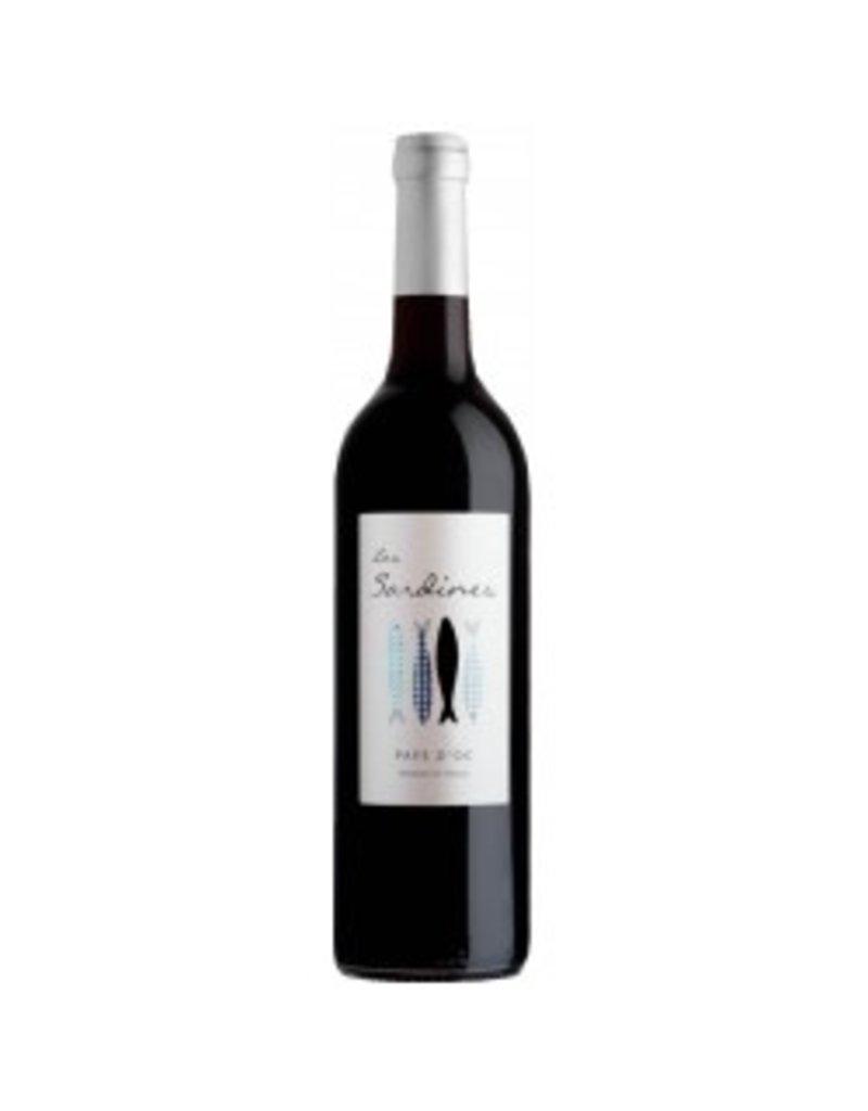 Vignobles des 3 Châteaux, Languedoc Vignobles des 3 Chateaux, Les Sardines, Pays d'Oc Rouge, IGP 2017