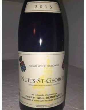 Domaine Remoriquet Nuits-Saint-Georges 2018