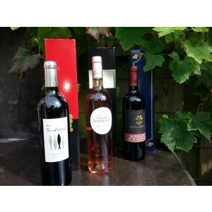 Carton winebox for 1 bottle
