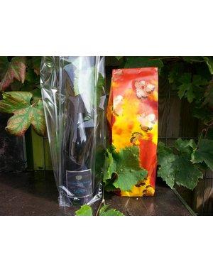Luxury paper or plastic bag for 1 bottle
