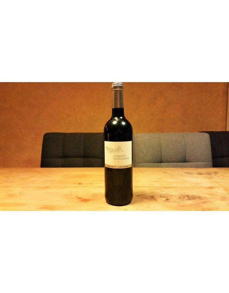 Vignobles des 3 Châteaux, Languedoc Vignobles des 3 Chateaux, Esprit Cepage, Cabernet Sauvignon,  Pays d'Oc 2016