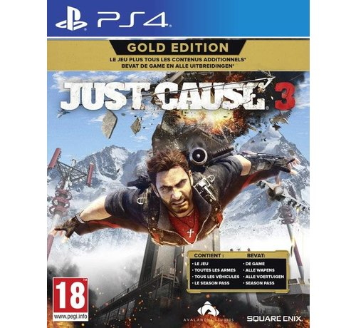 Square PS4 Just Cause 3 Gold Edition kopen