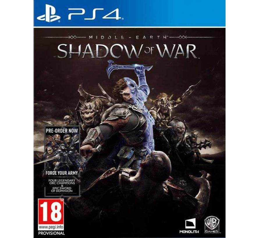 PS4 Middle Earth: Shadow of War kopen
